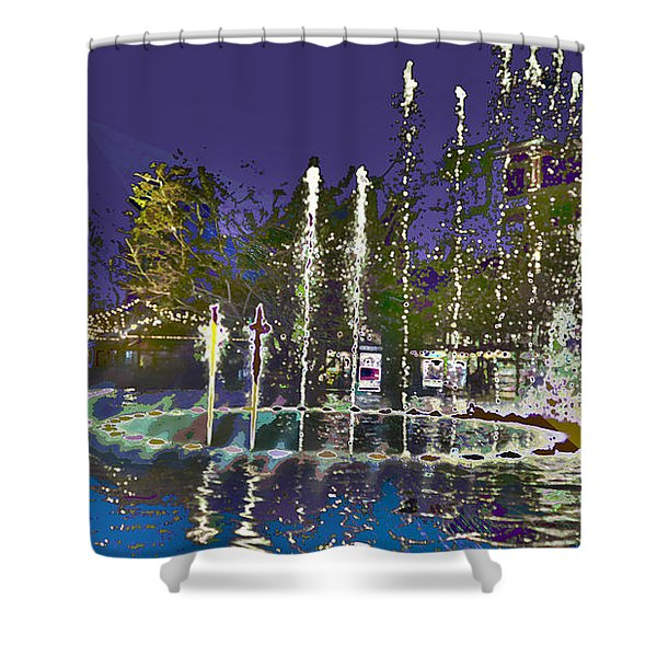 inside the heart of Glendale - 200,000 hearts beat Shower Curtain