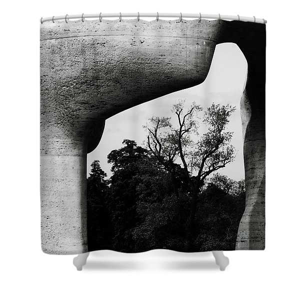 Inside The Monument Shower Curtain
