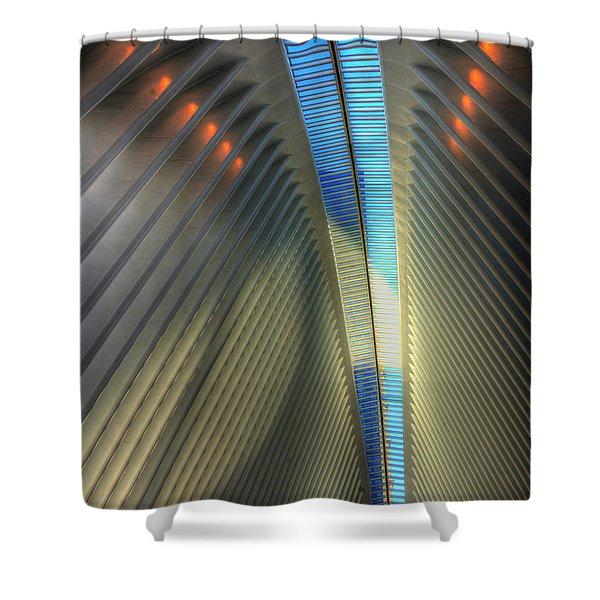 Inside The Oculus Shower Curtain