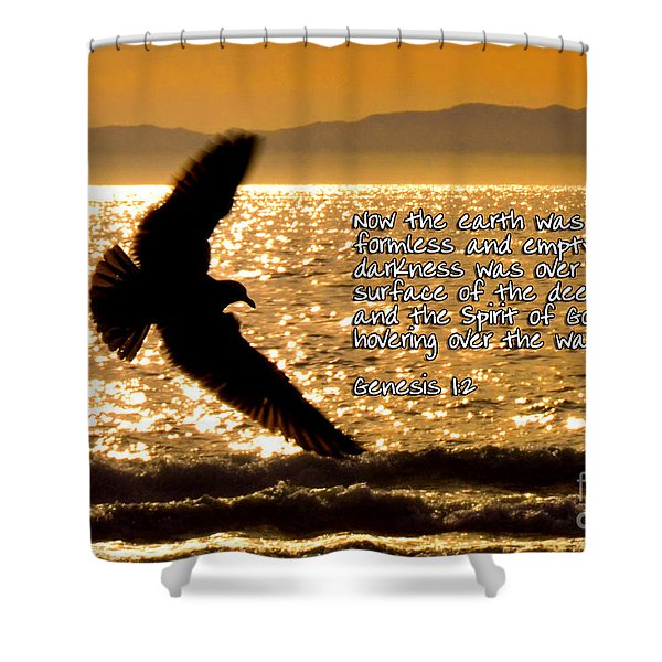 Inspirational - On The Move Shower Curtain