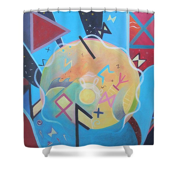 Inspired Shower Curtain