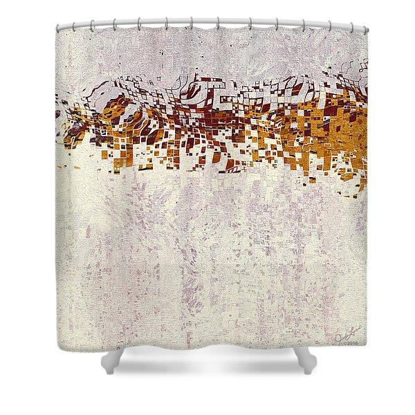 Insync 2 Shower Curtain
