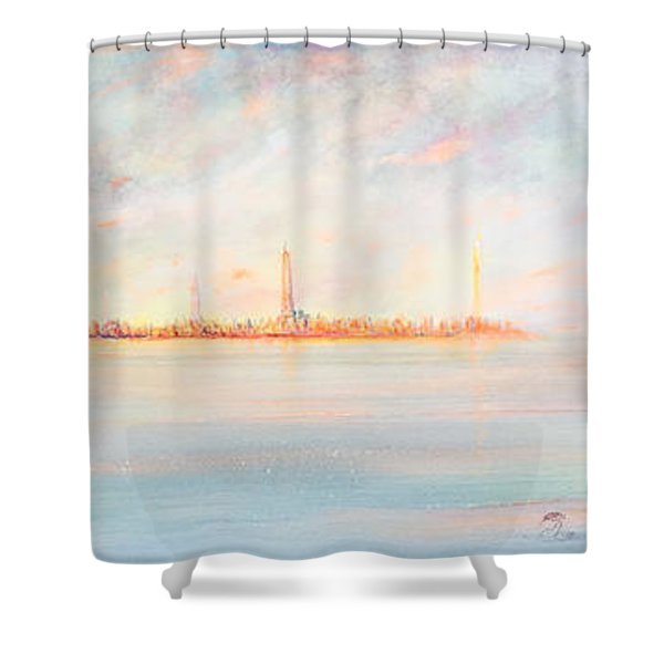 Intence City Shower Curtain