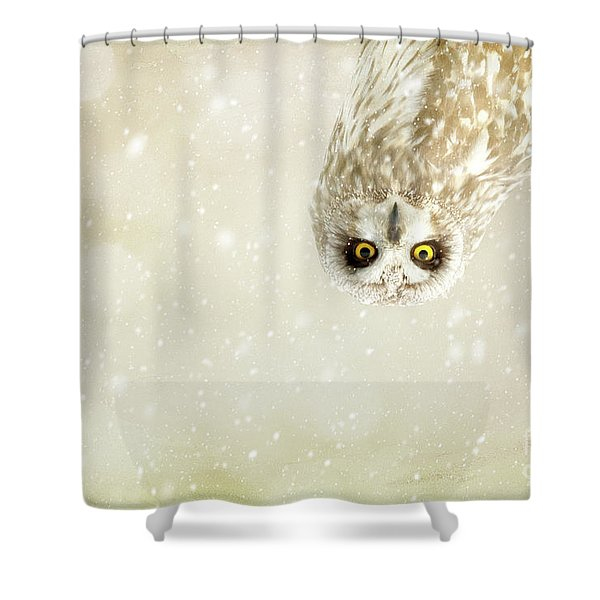 Intent Shower Curtain