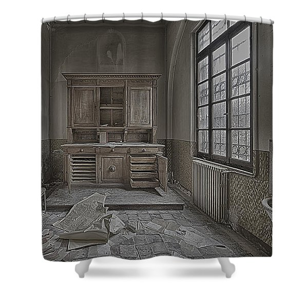 Interior Furniture Atmosphere Of Abandoned Places Dig Photo Shower Curtain