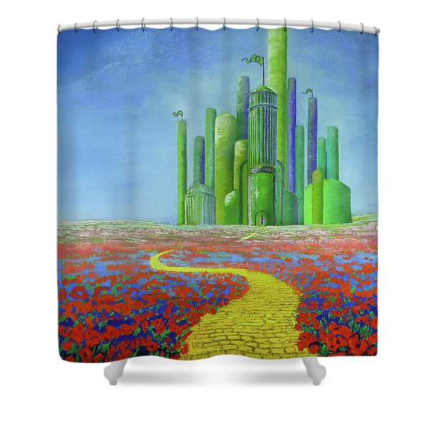 Interlude On The Journey Home Shower Curtain