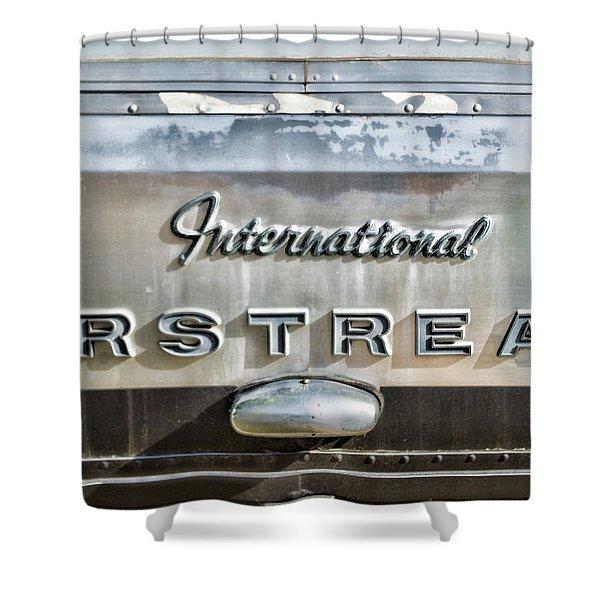 International Airstream Shower Curtain