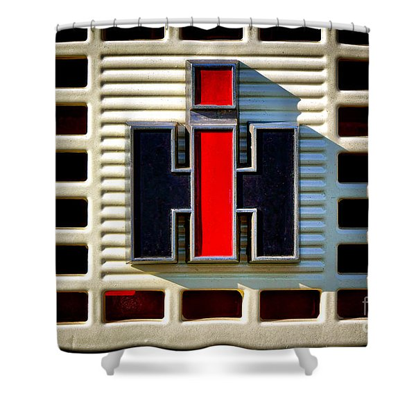 International Harvester Logo Shower Curtain