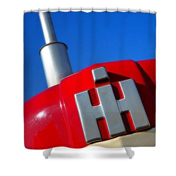 International Harvester Tractor  Shower Curtain