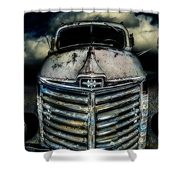 International Truck 7 Shower Curtain