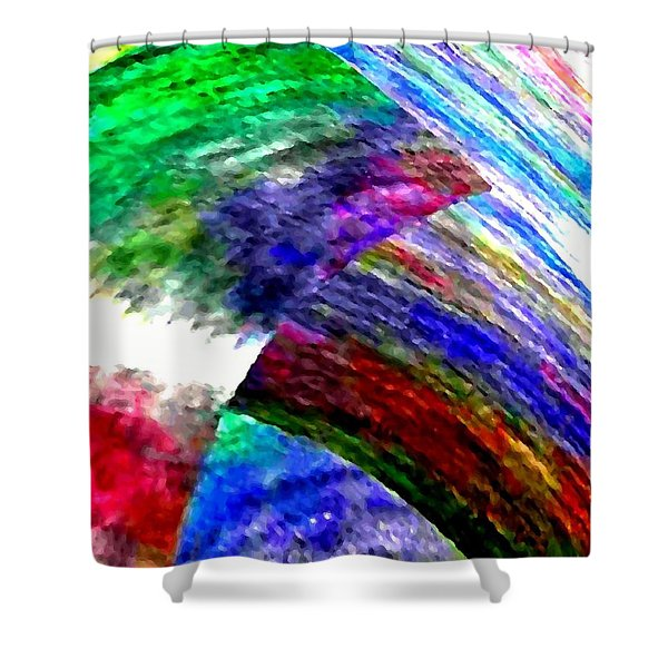 Interwoven Shower Curtain by Will Borden