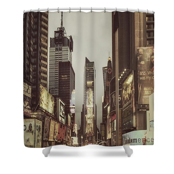 Into A Sea Of Souls Shower Curtain