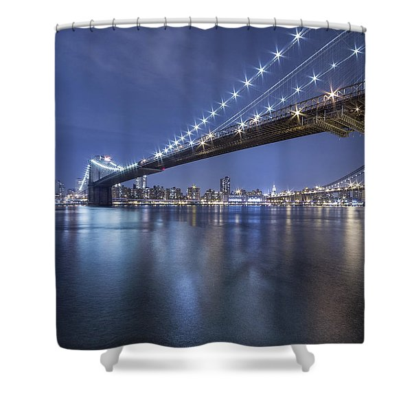 Into The Arms Of The Night Shower Curtain