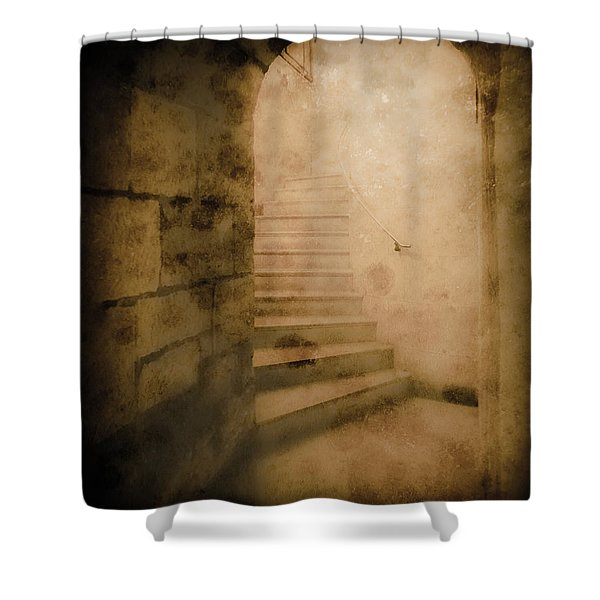 London, England - Into The Light II Shower Curtain