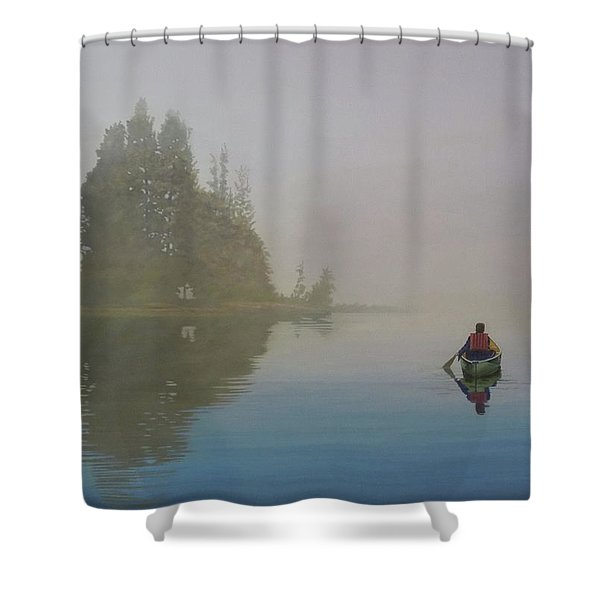 Into The Mistic Shower Curtain