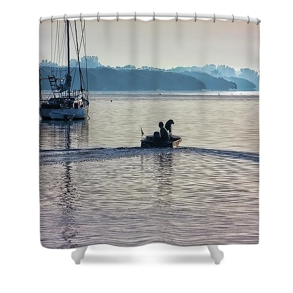 Into The Morning Light Shower Curtain