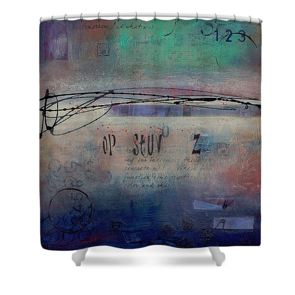 Into The Mystery Shower Curtain