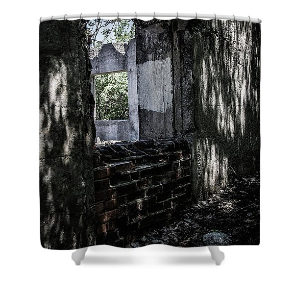Into The Ruins 4 Shower Curtain