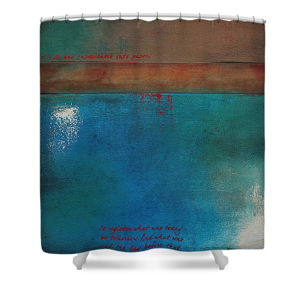 Into The Wisp 1 Shower Curtain