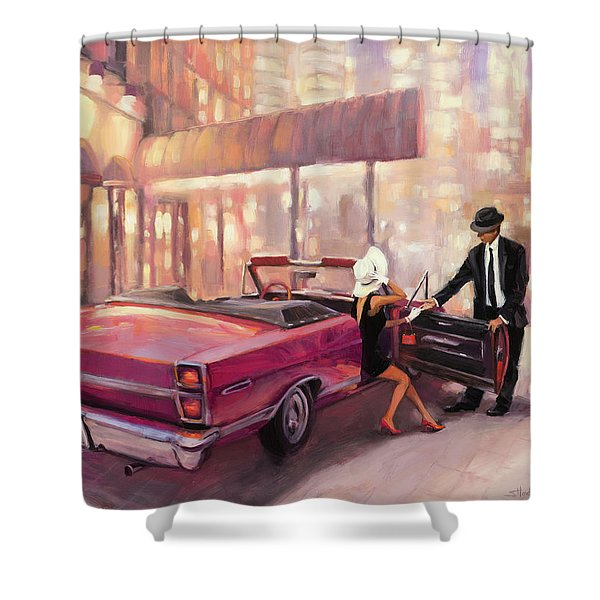 Into You Shower Curtain