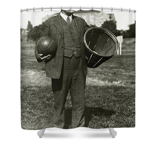 Inventor Of Basketball Shower Curtain