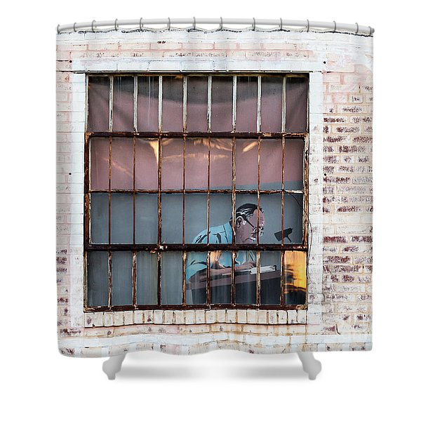 Inventory Time Shower Curtain