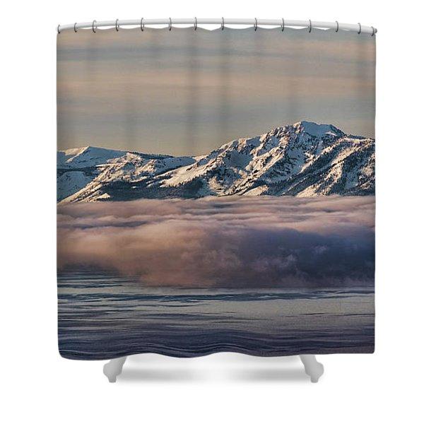 Inversion Tahoe Shower Curtain