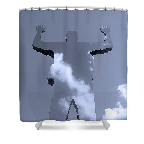 Invisible ... Shower Curtain