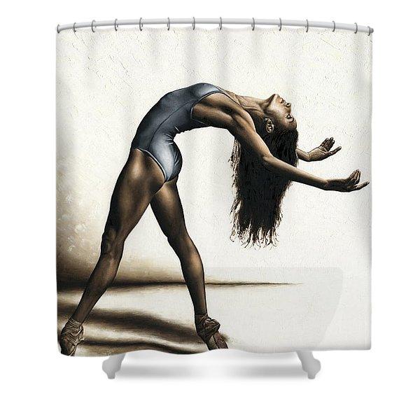 Invitation To Dance Shower Curtain