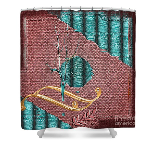 Inw_20a5562-sq_sap-run-feathers-to-come Shower Curtain