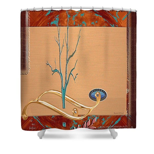 Inw_20a5563_sap-run-feathers-to-come Shower Curtain
