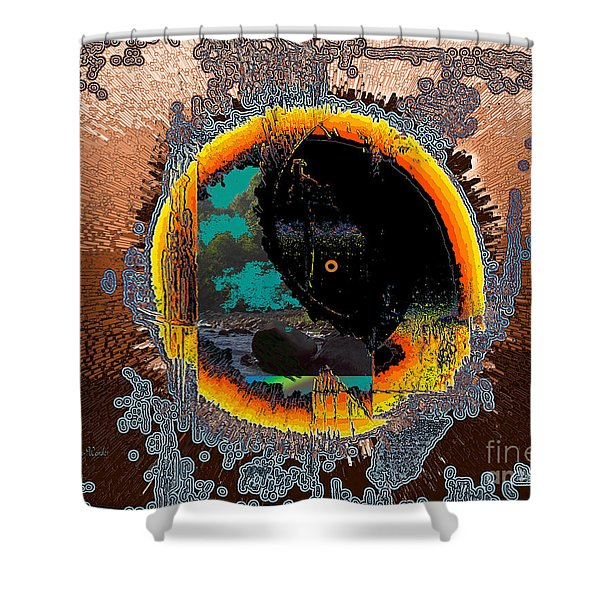 Inw_20a5566_morning-cliffs Shower Curtain