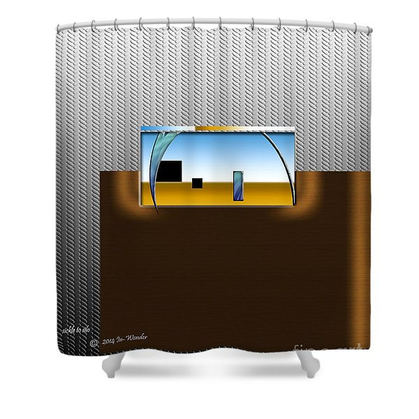 Inw_20a6109_sickle-to-silo Shower Curtain