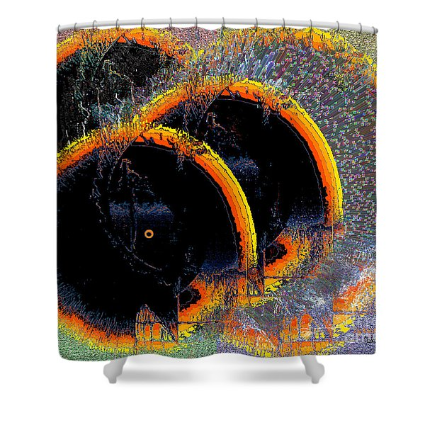 Inw_20a6449_sighted Shower Curtain