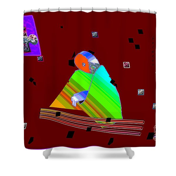 Inw_20a6452_between-rocks Shower Curtain