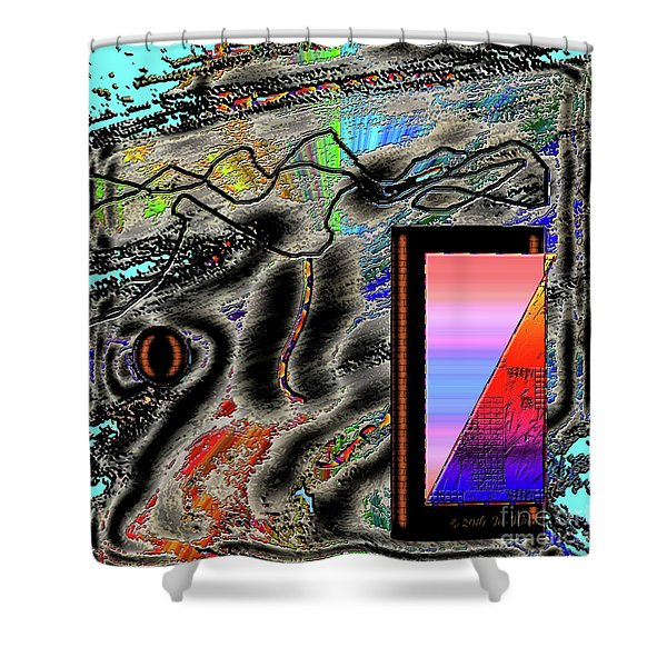 Inw_20a6507 Universal Mining_custom-spectrum Shower Curtain