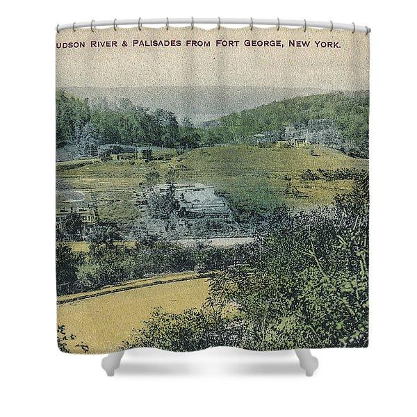 Inwood Postcard Shower Curtain
