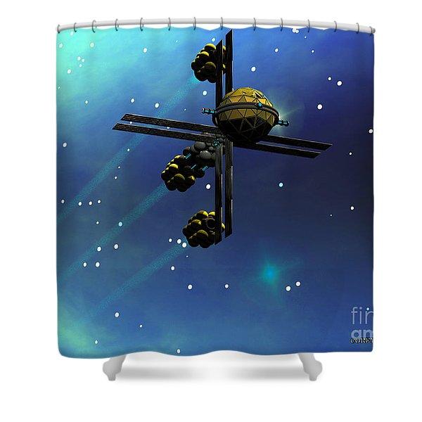 Ion Starcraft Shower Curtain