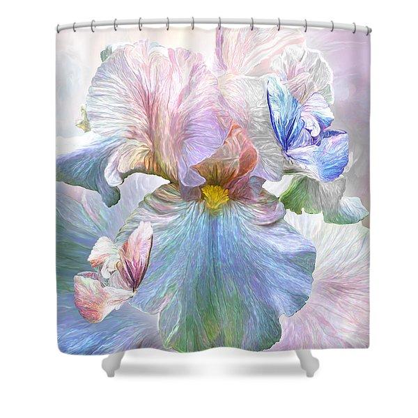 Iris - Goddess Of Serenity Shower Curtain