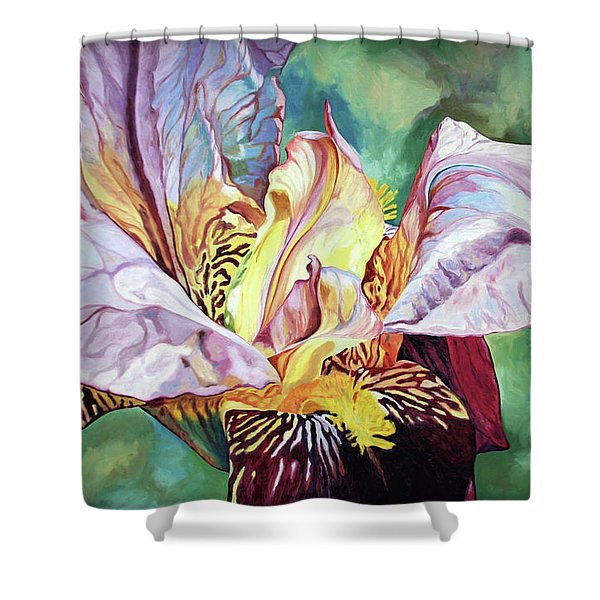 Iris Passion 1993 Shower Curtain