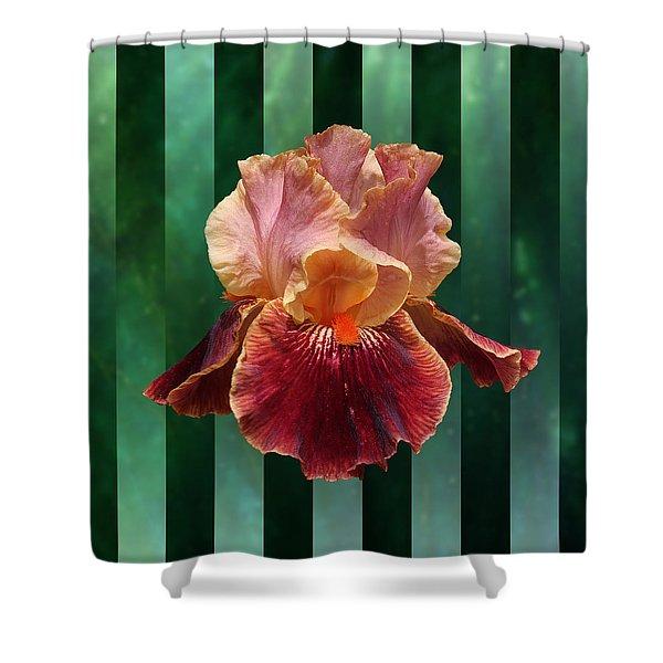 Iris Unleashed Shower Curtain