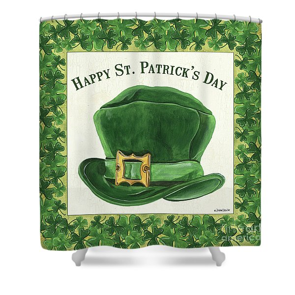 Irish Cap Shower Curtain