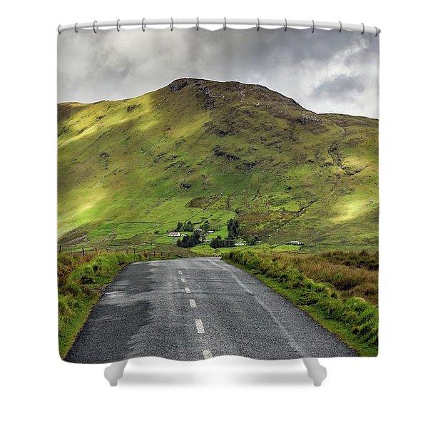 Irish Highway Shower Curtain