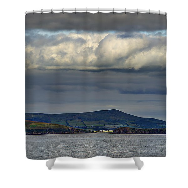 Irish Sky - Dingle Bay Shower Curtain