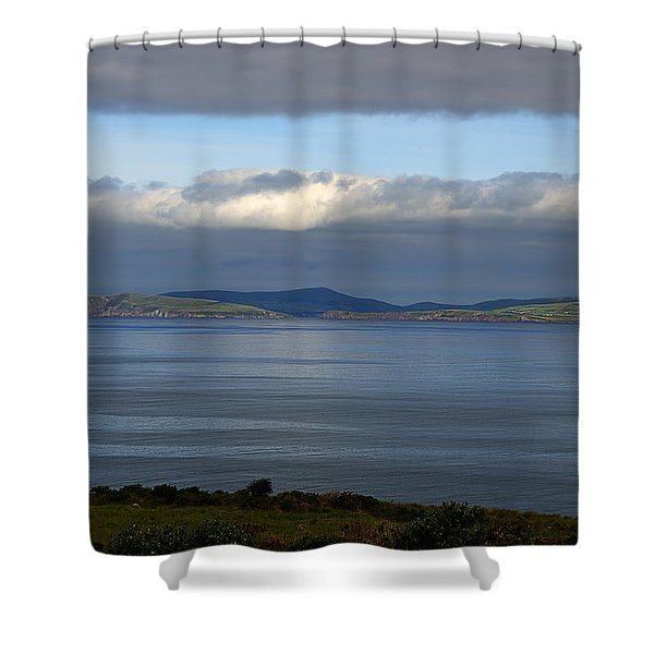 Irish Sky - Ring Of Kerry, Dingle Bay Shower Curtain