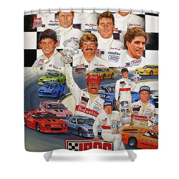 Iroc Racing Shower Curtain