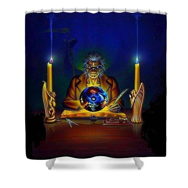Iron Maiden Shower Curtain