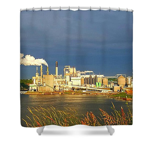 Irving Mill Shower Curtain