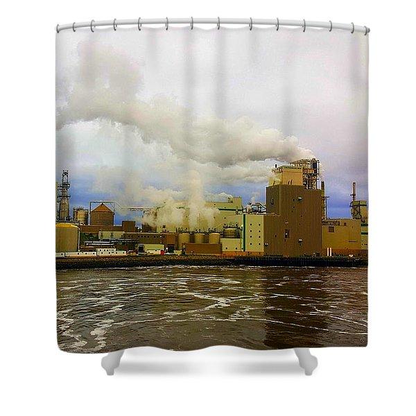 Irving Pulp Mill #3 Shower Curtain