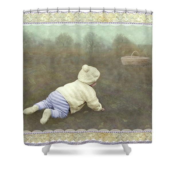 Is Bunny In The Basket? Shower Curtain